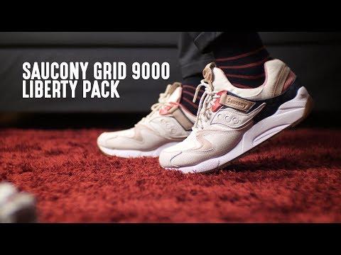 Saucony Grid 9000 Liberty Pack Light Tan Review! (Bahasa Indonesia)