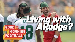 Whats Living with Aaron Rodgers Like? Cobb Tells All  Good Morning Football