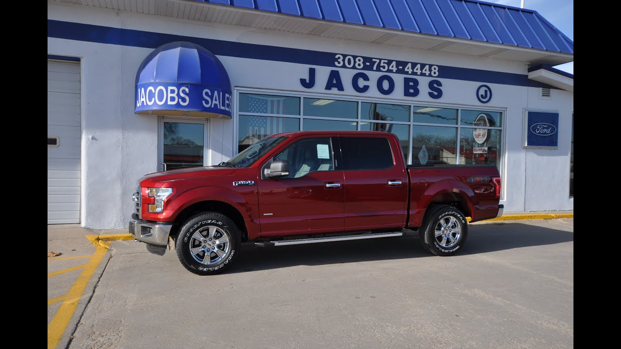 2016 ford f 150 xlt 2 7l ecoboost powerhouse for sale from jacobs ford youtube. Black Bedroom Furniture Sets. Home Design Ideas