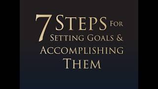 7 Steps For Setting Goals & Accomplishing — T. Harv Eker