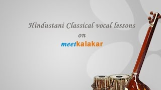 Hindustani classical vocal lessons for beginners -- Podcast 3