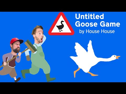 THIS ANIMAL CAUSES PSYCHOLOGICAL DAMAGE / Untitled Goose Game |