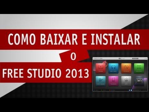 Como Baixar e Instalar o Free Studio 2013