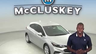 183836 New 2018 Chevrolet Cruze LT FWD 4D Hatchback Silver Test Drive, Review, For Sale -