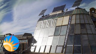 Pioneers ride out the COVID-19 pandemic in sustainable Earthships built with junked tires and adobe