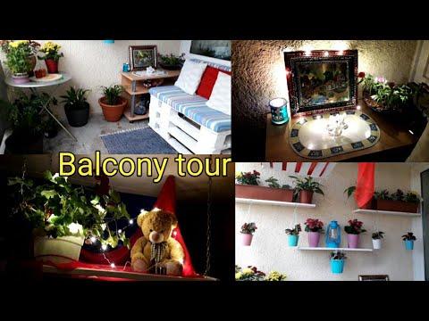 MY BALCONY TOUR | INDIAN BALCONY DECORATING IDEAS | Balcony Organization Ideas | DIY Decor/Decoratin