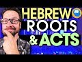Does Acts Teach Us to Follow the Law of Moses? Hebrew Roots part 3
