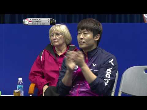 TOTAL BWF Thomas & Uber Cup Finals 2016 | Badminton SF/S1-Thomas Cup – KOR vs INA (Court 2)