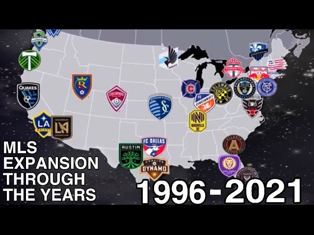 Mls Expansion Through The Years 1996 2021 Youtube