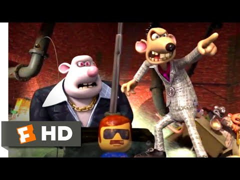 Flushed Away 2006 Rat Mobile Chase Scene 7 10 Movieclips Youtube
