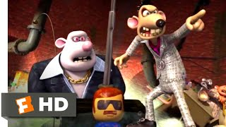 Flushed Away 2006   Rat Mobile Chase Scene 710  Movieclips