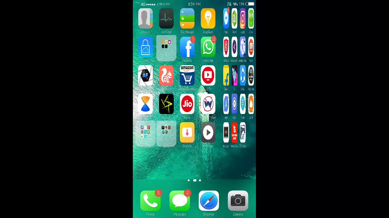 IPhone x theme for vivo    all theme in one app iOS 11 and all themes