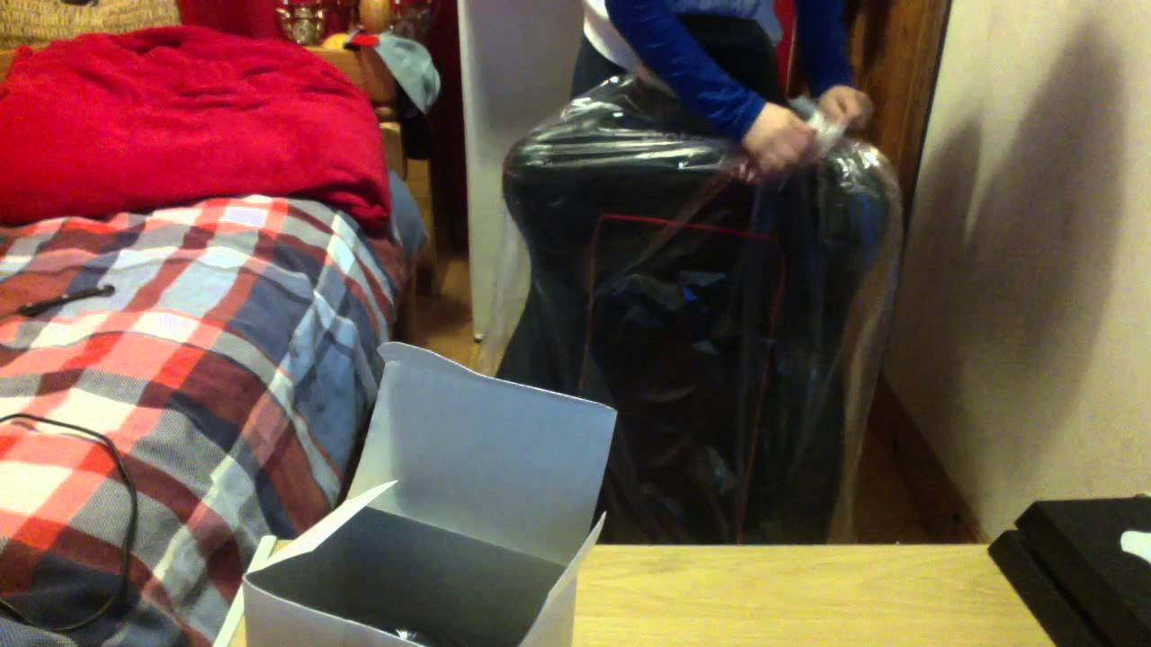 gioteck rc5 gaming chair hanging for baby unboxing video youtube