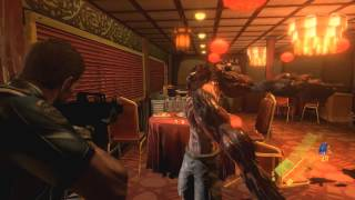 Resident Evil 6 - PC Version - Campaign Gameplay