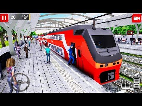 Euro Train Driver 2019: Railway Simulator 3D - Double Decker Train - Android Gameplay