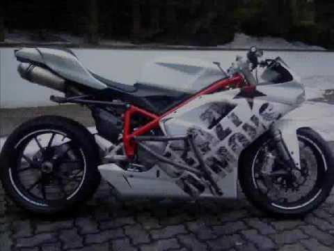 ducati 848 stuntbikecrazy demons - youtube