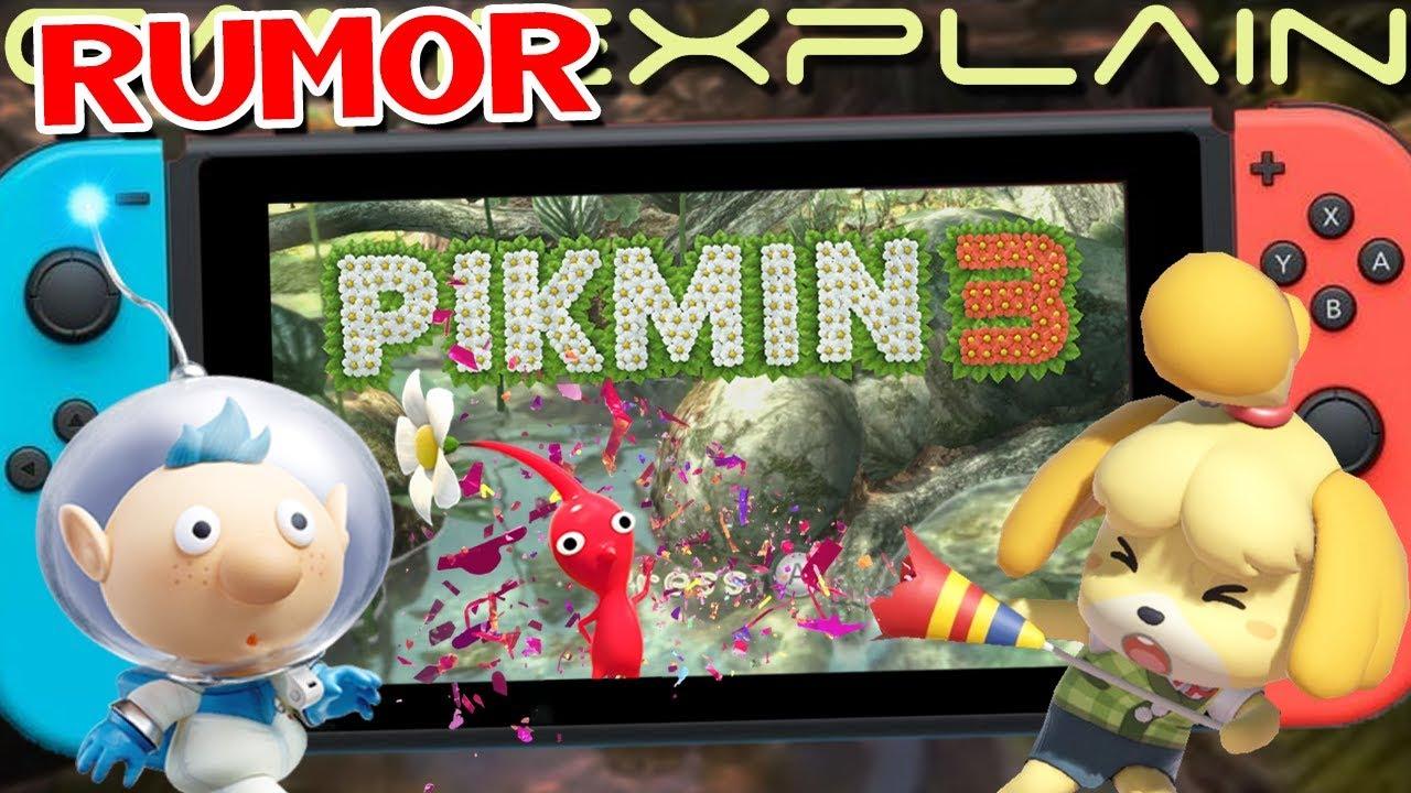 Rumor Pikmin 3 Deluxe Dropping Soon Animal Crossing Is Japan S Best Selling Game Since 2014 Youtube