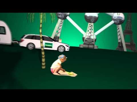 Europcar Vakantie animation