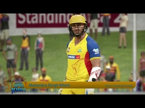 Don bradman Cricket 17 Chennai Super Kings Vs Rising Pune Supergaint (Csk Is Back)