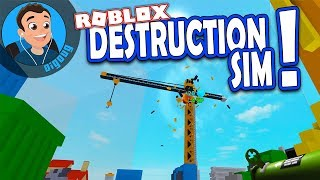 Here's how to get started in Roblox Destruction Simulator!
