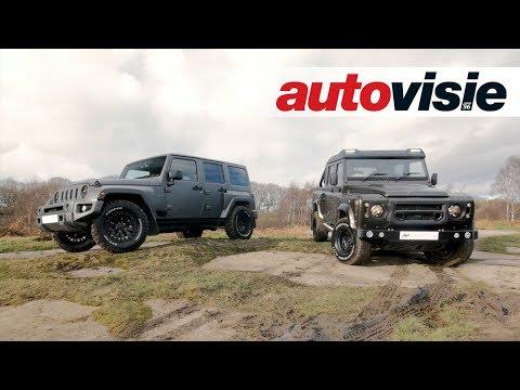De exclusieve offroaders van de Chelsea Truck Company - Autovisie TV