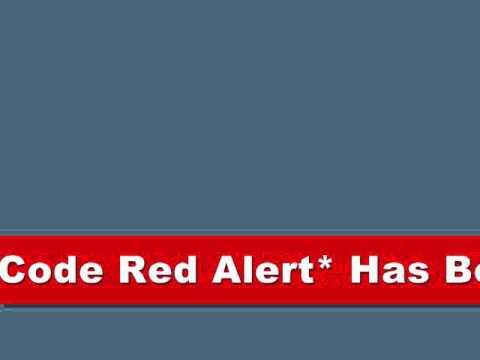 ***IMPORTANT CODE RED ALERT*** Effective Until 10/1/10