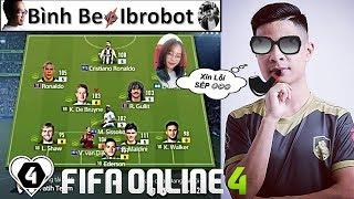 FIFA ONLINE 4 | Skiller Ibrobot - Động Chủ Bình Be & Nữ Streamer Dorry GẶP KHÓ | Giải Đấu I Love STC
