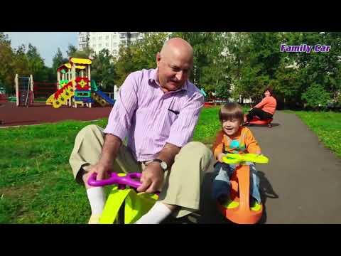 Обзор детской машинки Family Car (бибикар, Smartcar)