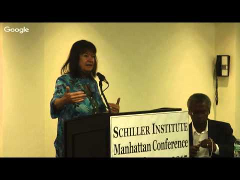 Schiller Institute New York Conference: Creating A Peace Paradigm