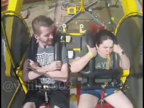 Download Women pukes in the Rollercoaster 2019~Fail