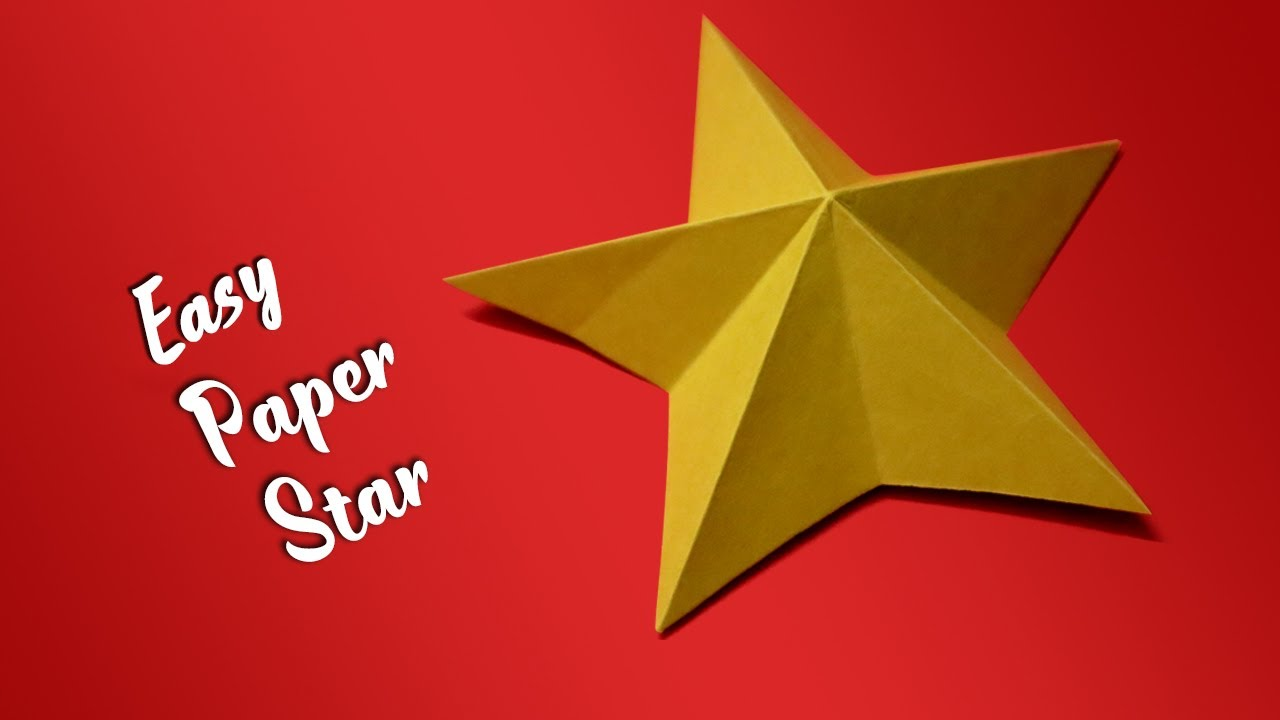 How to make Easy Origami Paper Star | New Year Decoration ...