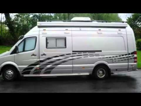 Mercedes sprinter luxury camper for roadbikes by sc for Luxury mercedes benz sprinter