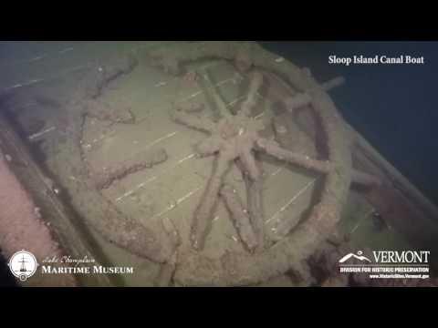 Sloop Island Canal Boat, Underwater Historic Preserves