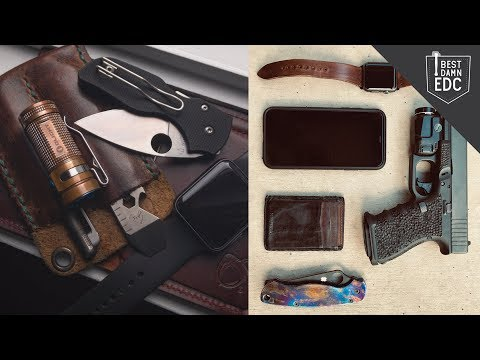 Incredible Custom Everyday Carry Gear | EDC Weekly