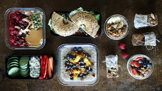 MAKE-AHEAD VEGAN BREAKFAST IDEAS » quick & easy to-go