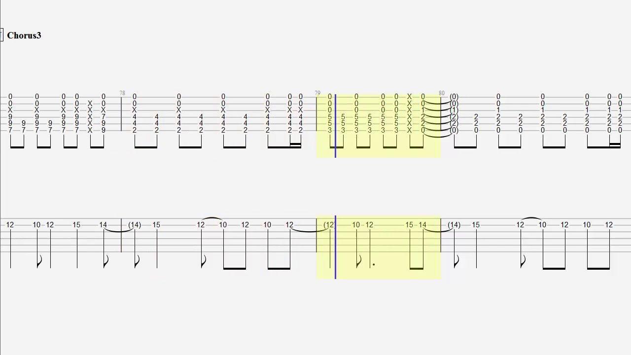 Guitar Duet Tablature Stranger Things Have Happened Youtube