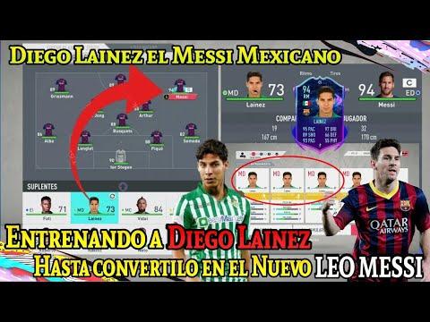 El Messi MEXICANO Diego Lainez / Entrenando A Lainez Hasta Llegar A 94 De Valoración (Media)