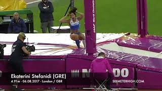 Ekaterini Stefanidi (GRE) - Pole Vault World Champion 2017