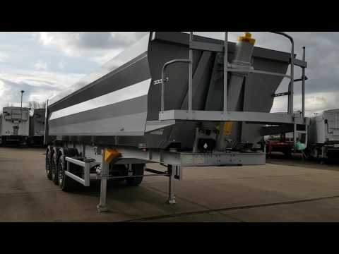 Newton Steel Aggregate Tipping Trailer or Demolition Tipping