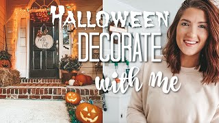 Halloween Decorate With Me | Outdoor Decor & DIY Ideas 2019
