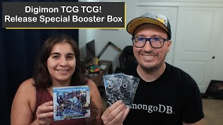 Digimon TCG Version 1.0 Booster Box Opening!