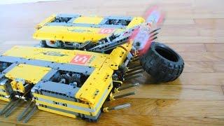 [TC11] Square pancake - Lego battlebot