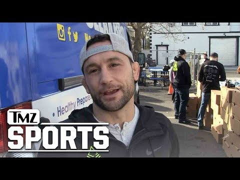 UFC's Frankie Edgar  I Broke My Face & It Frickin' Sucks | TMZ Sports