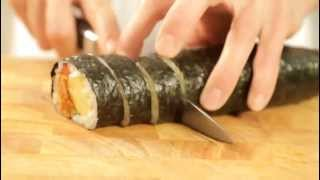 How To Make Korean Nori Sushi Rolls
