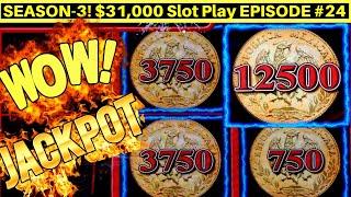 Lightning Link Wild Chuco Slot HANDPAY JACKPOT | High Limit RISING FORTUNES Bonus | SE3| EPISODE #24