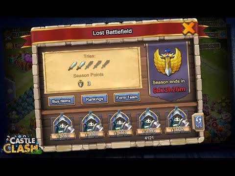 Castle Clash: Lost Battlefield