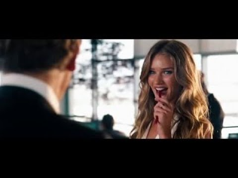 Rosie Huntington Whiteley sensual scenes Transformers 3