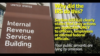 Defeating an IRS Notice of Intent to Levy Mp3