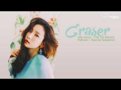 Free Download [tyvn][hangul + Kara + Vietsub] Eraser | Taeyeon 태연 Mp3 dan Mp4