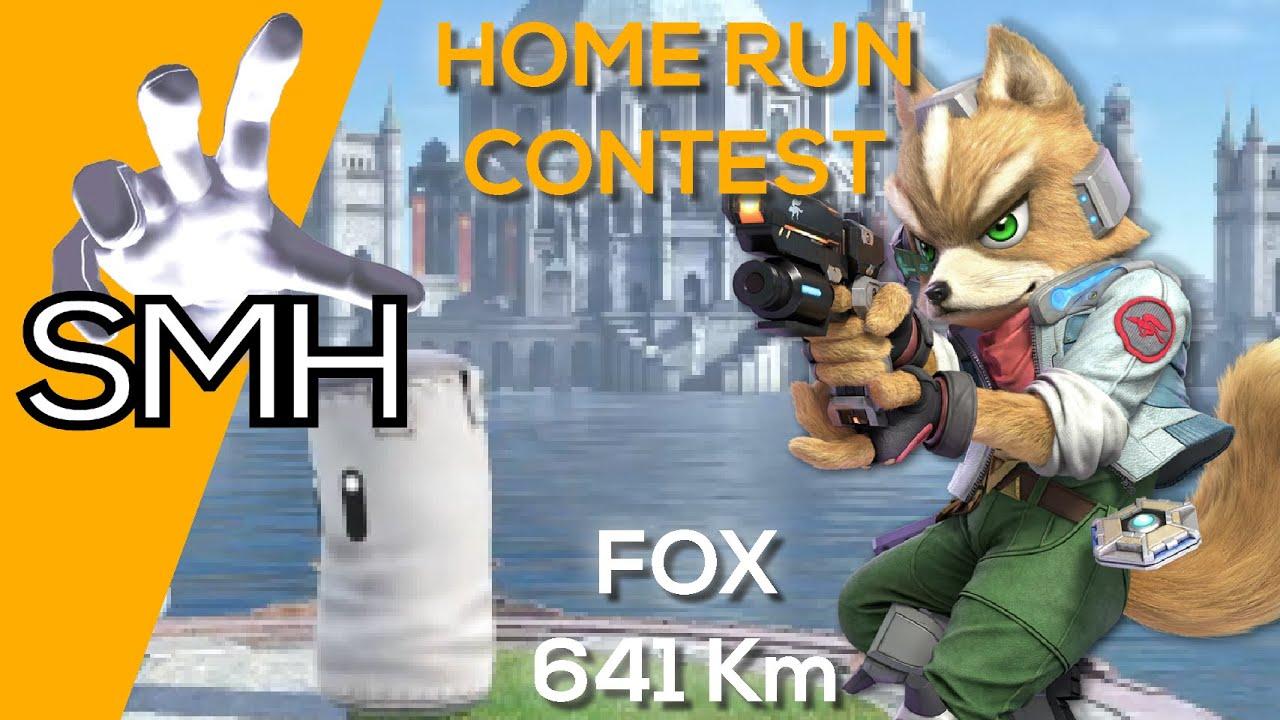 Smash Bros Ultimate - Home Run : Fox 641,157 km